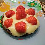 recette croquant aux spéculos et crème pâtissière