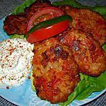 recette les tomatokeftes (beignets de tomate)