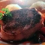 recette chateaubriand à la confiture d'échalote