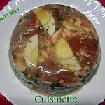 recette Saumon rose en gelée.