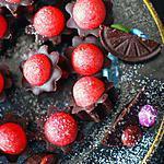 recette Etoiles de chocolat à la fraise Tagada ® et smarties
