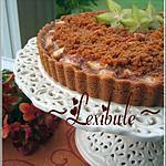 recette Tarte aux pommes, croûte et garniture au graham