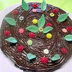 recette Gâteau fourré à l'orange. nappage chocolat.
