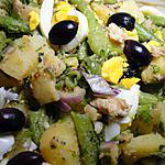 recette Salade de pommes de terre façon niçoise
