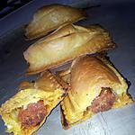 recette Friand au chorizo -mozzarella