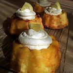 recette Baba au citron et chantilly au mascarpone