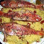 recette Rouget barbet riz à la marseillaise