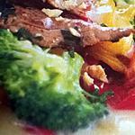 recette salade de canard à l'estragon