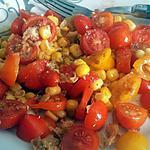 recette Salade de tomate bicolore du Jardin