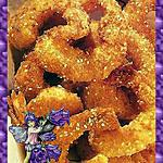 recette Crevettes au sésame