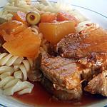 recette Ragout de Rotis de porc