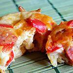recette Bouchées poivron / chorizo