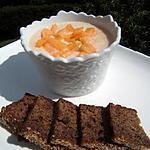 recette Petits pots de crème au melon gingembre confit et rhum