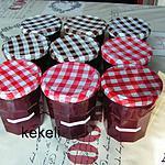 recette Confiture de prunes rouges au vitpris