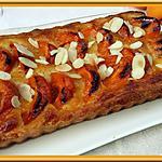 recette Tarte  abricots et amandes
