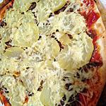 recette pizza bœuf oignon pomme de terre