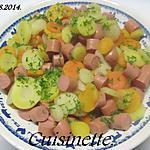 recette Méli-mélo de carottes aux snacks.