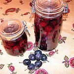 recette Prunes au sirop