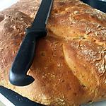 recette Fougasse chorizo olive vertes chèvre
