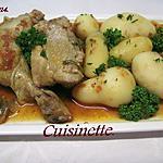 recette poulet en morceaux a la sauce tomates et basilic.