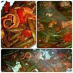 recette Haricots verts aux sauce tomates et paprika douce