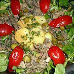 recette Salade de queue de boeuf à la charcutiére