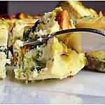 recette Flan de ricotta aux pousses d'épinard et pistache