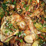 recette Jarret de veau aux lard et champignons