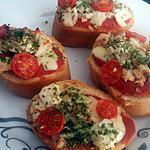 recette Bruchettas a l'Italienne
