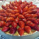 recette Tarte aux fraises crème pâtissière.