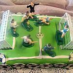 recette Gâteau anniversaire foot.