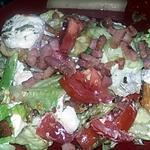 recette Salade au lardons et toast de chèvre de TATIE