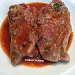 recette Tranches d'épaule d'agneau mijotées aux tomates