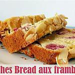 recette Peaches bread aux framboises