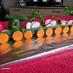 recette cargaison de radis à la creme de concombre