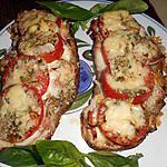 recette Crostini jambon aux herbes