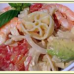 recette Salade de pâtes méli mélo