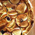 recette Tarte aux questches et pommes à la mode de Luneville