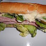 recette CE SOIR ENVIE DE SANDWICH
