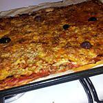 recette Pizza au thon et calamars à la mozzarella