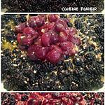 recette Tartelettes / Tarte crème amandine aux mirabelles & mûres