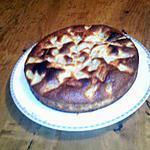 recette gateau moelleux au pepite de chocolat et poire