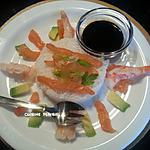 recette Petite entrée à saveurs japonaises