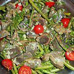 recette Salade d haricots verts aux gésiers de canards confits
