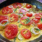 recette Frittata tomates et courgettes