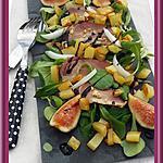 recette Salade gourmande de filets de canard