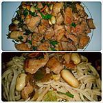 recette Sauté de dinde aux arachides à la chinoise