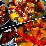 recette Salade de poivrons grillés