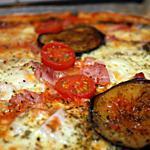 recette Pizza aux aubergines grillées