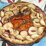recette Tarte fine aux nectarines et aux abricots façon ch'ti
